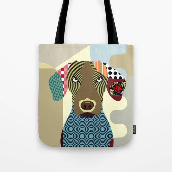 Vizsla Bag, Vizsla Gifts, Vizsla Accessories, Dog Tote Bag, Dog Lover's Gift, Animal Lover Gift, Pet Tote Bag
