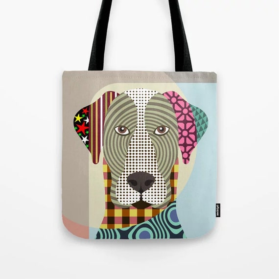 Great Dane Tote Bag, Dog Lover Gift