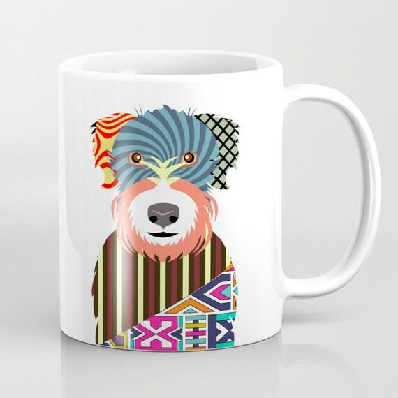 Soft-coated Wheaten Terrier Mug, Wheaten Terrier Gifts, Wheaten Terrier Print, Wheaten Terrier Lovers Gift, Pet Mug, Dog Lover Mug