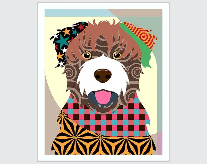 Bouvier Des Flandres, Puppy Decor Pet Portrait