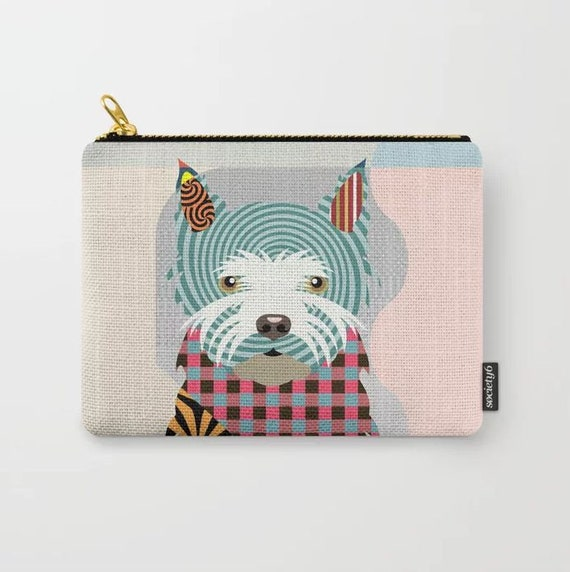 Westie Purse Printed Wallet, West Highland Terrier