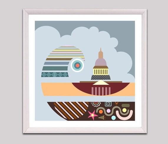 Capitol Hill Washington D.C, Capitol Hill Building, Washington DC  Wall Art, Washington State, Washington Capitals, DC Print, DC Art