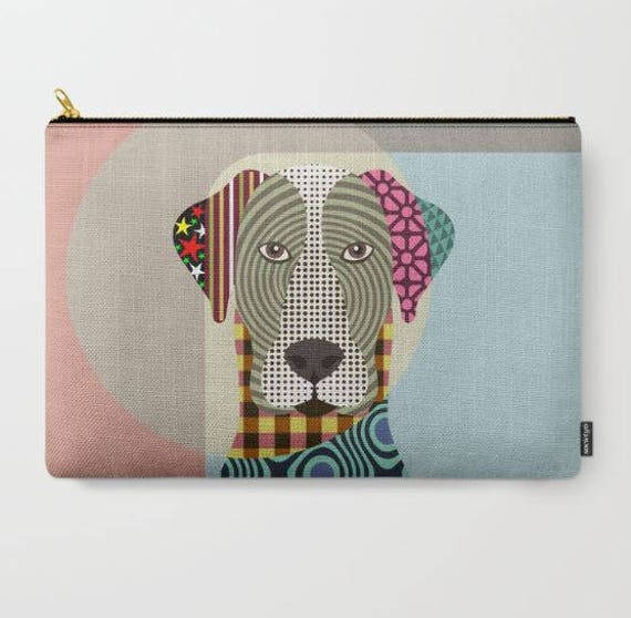 Great Dane Pouch, Great Dane Wallet, Great Dane Purse, Great Dane Gifts, Dog Wallet, Pet Pouch, Dog Pouch, Zipper Purse,  Dog Zipper Pouch