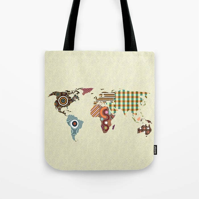 World map tote bag world map gift world map print bag world map world map tote bag world map gift world map print bag world map accessories world map gifts world map design map bag gumiabroncs Image collections