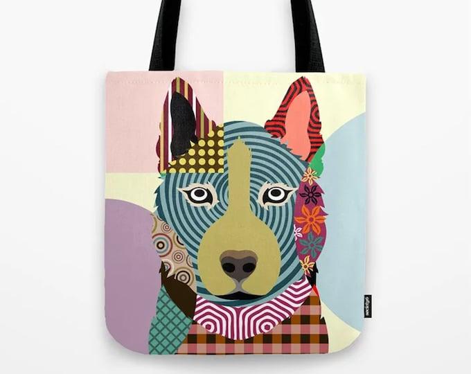 Husky Tote, Chukcha Sibe Dog Overnight Bag