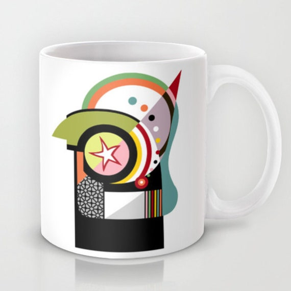 Cute Colourful Mug Ceramic Mug, Tea Mug, Unique Drinking Coffee Mug,  Cool Coffee Mug
