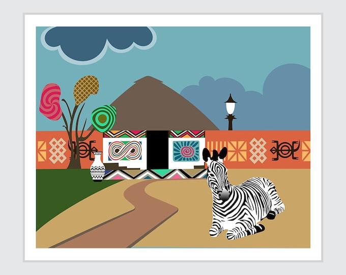 Pro Black Art, African Diaspora Safari Decor
