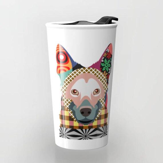 German Shepherd Dog, German Shepherd Gift, Dog Mug, Dog Lover Gifts, Ceramic Mug, Unique Coffee Mugs,  Tea Mug, Travel Gift