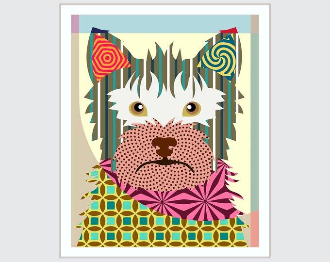 Australian Terrier, Aussie Dog Pet Pop Art
