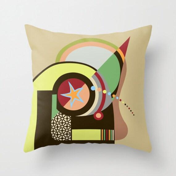 Star Decorative Pillow, Star Pillow, colourful Pillow, Cute Pillow, Pillow Case, Geometric Pillow, Abstract Pillow