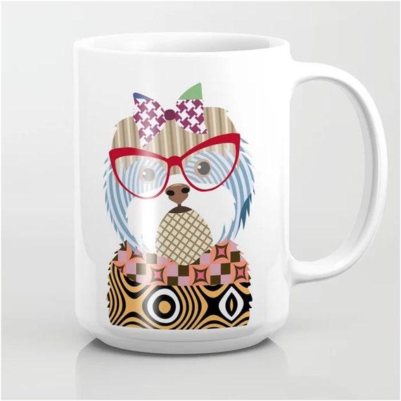 Shih Tzu Mug, Dog Coffee Cup Pet Lover Gift