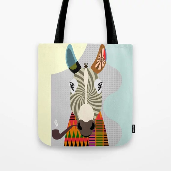 Donkey Tote, Funny Animal Weekend Overnight Bag