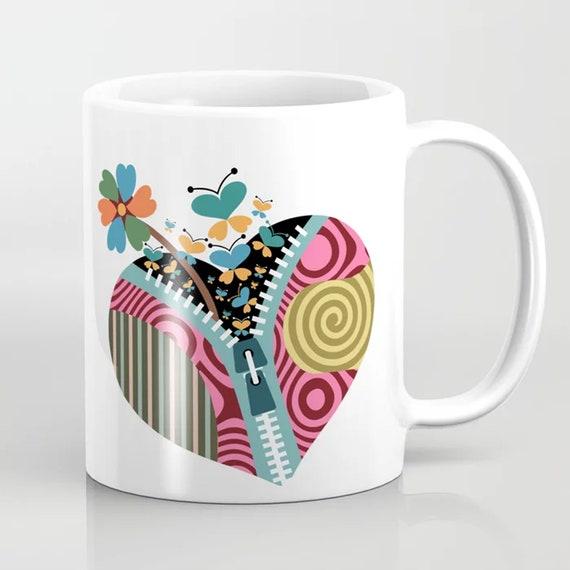 Love Mug Xoxo Cup, I Love You Gift Valentine Day