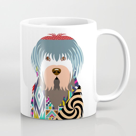 Old English Sheepdog Mug, Old English Sheepdog Gifts, Old English Sheepdog Print, Pet Gifts, Dog Lover Mug