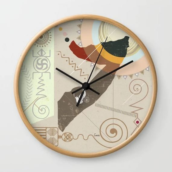 Somalia Map Decor Art, Somalia Art Clock Gift, Mogadishu East  African Gift, Somalia Clock African Decor, African Clock
