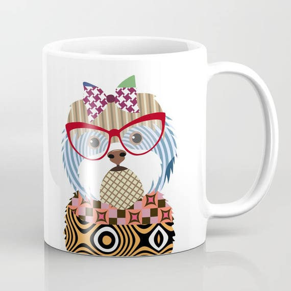 Shih Tzu Mug, Shih Tzu Gifts, Shih Tzu Accessories, Shih Tzu Lover Gift, Dog Mug, Animal Mug, Pet Gifts, Pet Mug, Dog Lover Mug