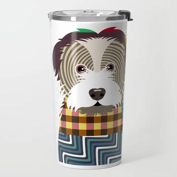 Havanese Stainless Steel Tumbler, Dog Travel Mug