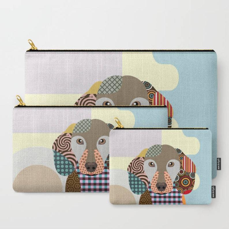 Dachshund Art Print Dog Tote Bag Animal Lover Gift Pet Tote Bag Dachshund Bag Dog Lover/'s Gift Dachshund Gifts