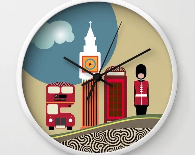 London Wall Clock, Big Ben UK Souvenir Home Decor