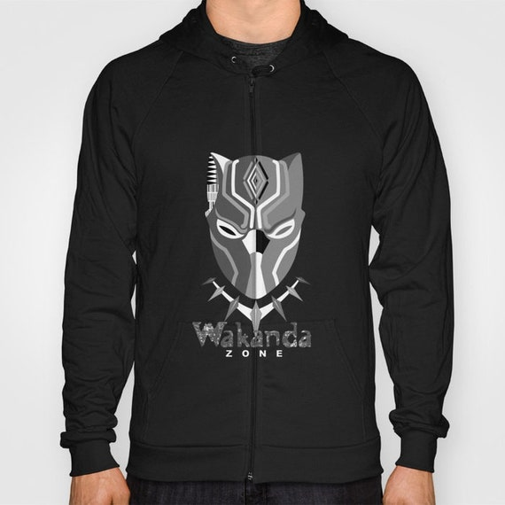 Wakanda Hoodie Black Panther Marvel, Afrocentric Hoodies, African Tops Wear