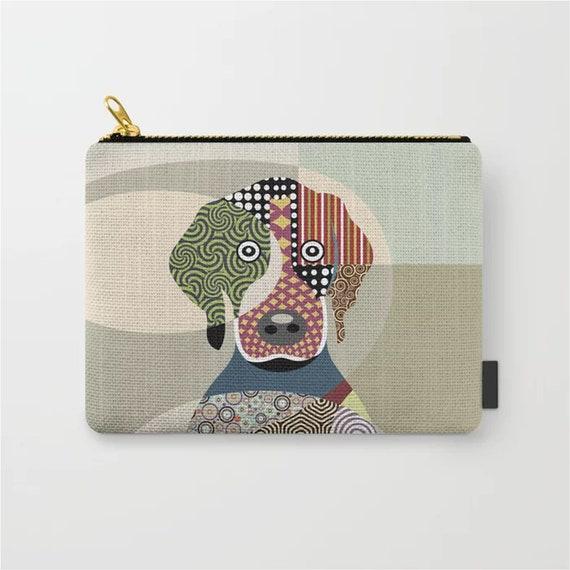 Beagle Purse, Dog Zipper Pouch Coin Wallet