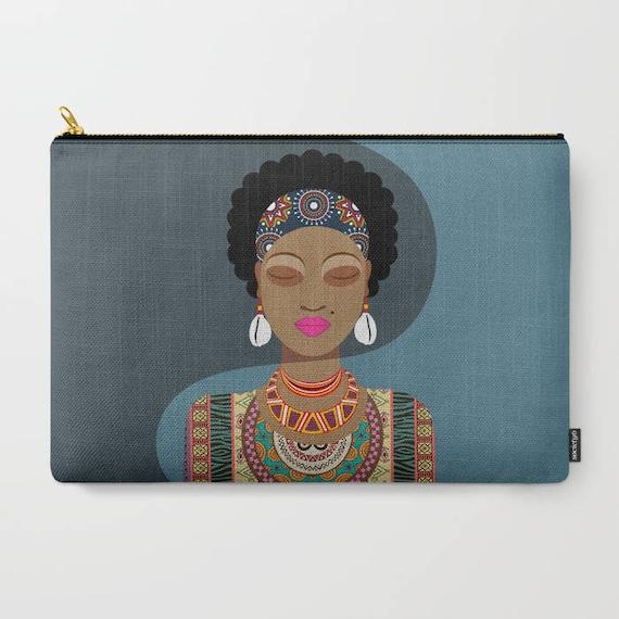 African Wallet, Ankara Purse, African Purse, African Zipper Pouch, Tribal Purse,  African Fabric Purse, Zipper Bag Purse