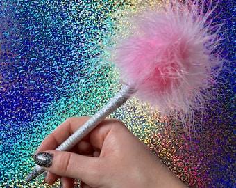 Pink AS IF! CLUELESS Fluff Pen