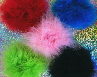 SPICE WORLD FLUFF Hair Scrunchie ee37f549ed1