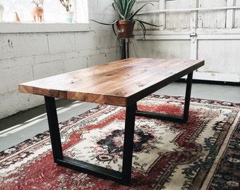 Industrial Modern Reclaimed Coffee Table
