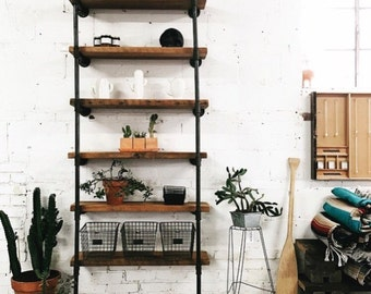 Wall Mount Retail / Home  Industrial Shelving Unit