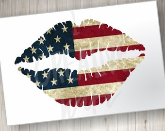 Ready to Press Full Color HTV Sublimation Transfer Leopard Red Heat Transfer Vinyl Independence Day DIY Patriotic USA Transfer