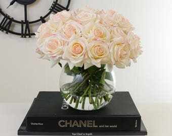 Artificial flowers in vase etsy popular items for artificial flowers in vase mightylinksfo