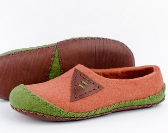 """Felt slippers """"Alameda"""" for mens 