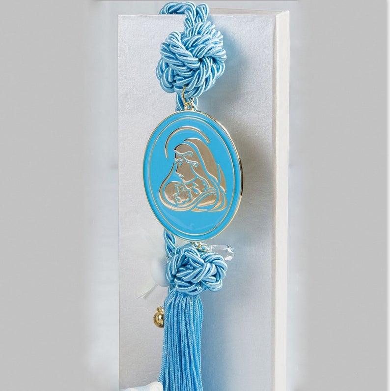 nurcery decor Baptism favors 10pcs-Holy Mother bonboniere-Madona Baby shower gift-Christening favors-Luxury Baptism favor-Christening gift