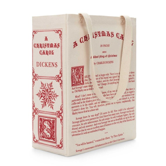 A Christmas Carol Book Tote