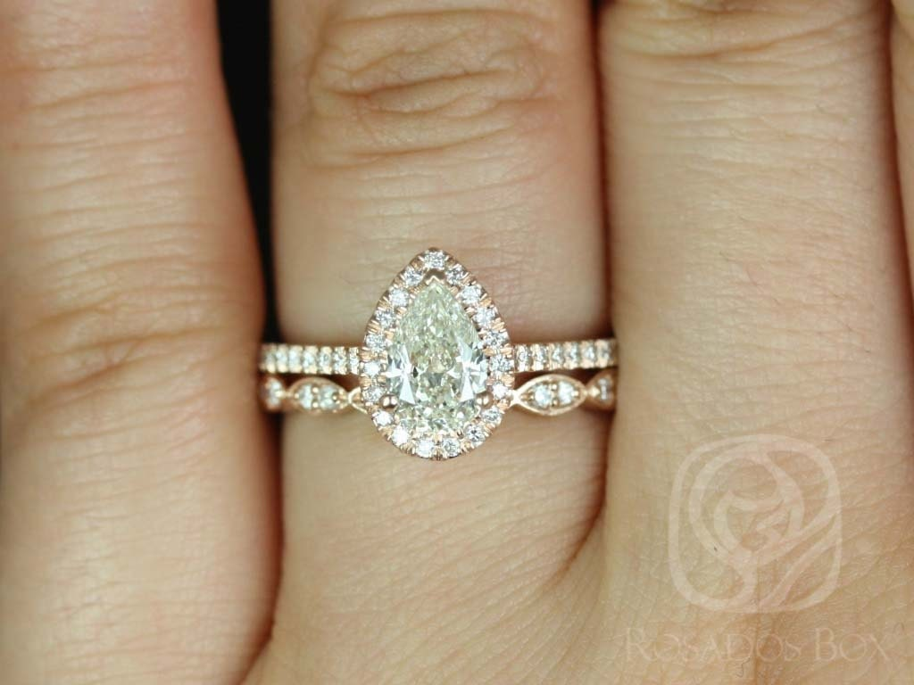 Other Wedding Jewelry Honesty Diamond Micro Pave Halo With Split Shank Setting