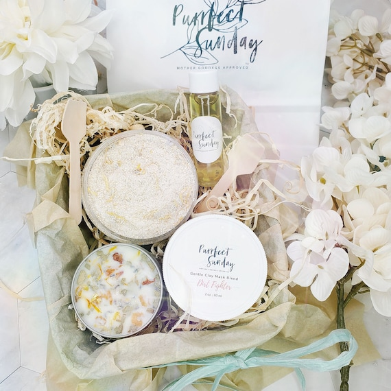 Sensitive Skin Spa Set | Birthday Gift | Mother's Day | Selfcare Gift | Spa Package | Gift Set | Gift For Her | Purrfect Sunday