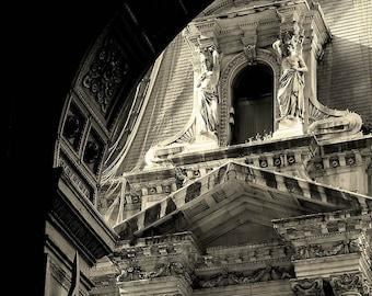Title:Vestigio Romano-Fine Art Photography, Architecture, City Hall, Philadelphia, Greek Roman, Home and Office Decor
