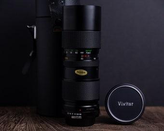 Nikon Non-Ai F Mount Vivitar 85-205 f/3.8 Cleaned & Tested