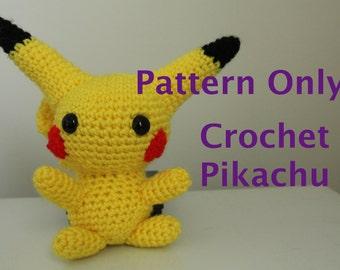 Chibi Pikachu Crochet Pattern