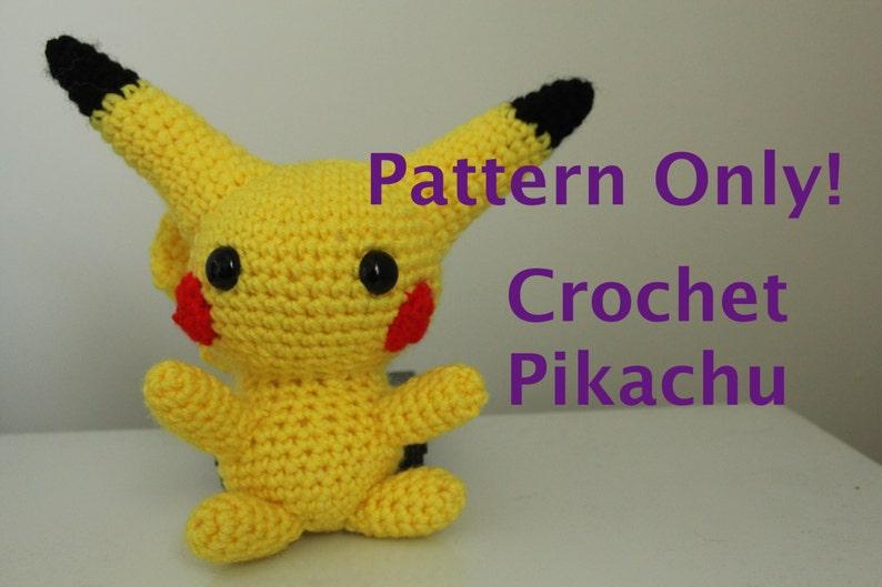 Chibi Pikachu Crochet Pattern image 0