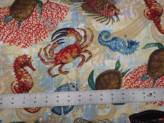 Springs Universal E.T with Animals BTY Cotton Fabric 59710 Packed E.T
