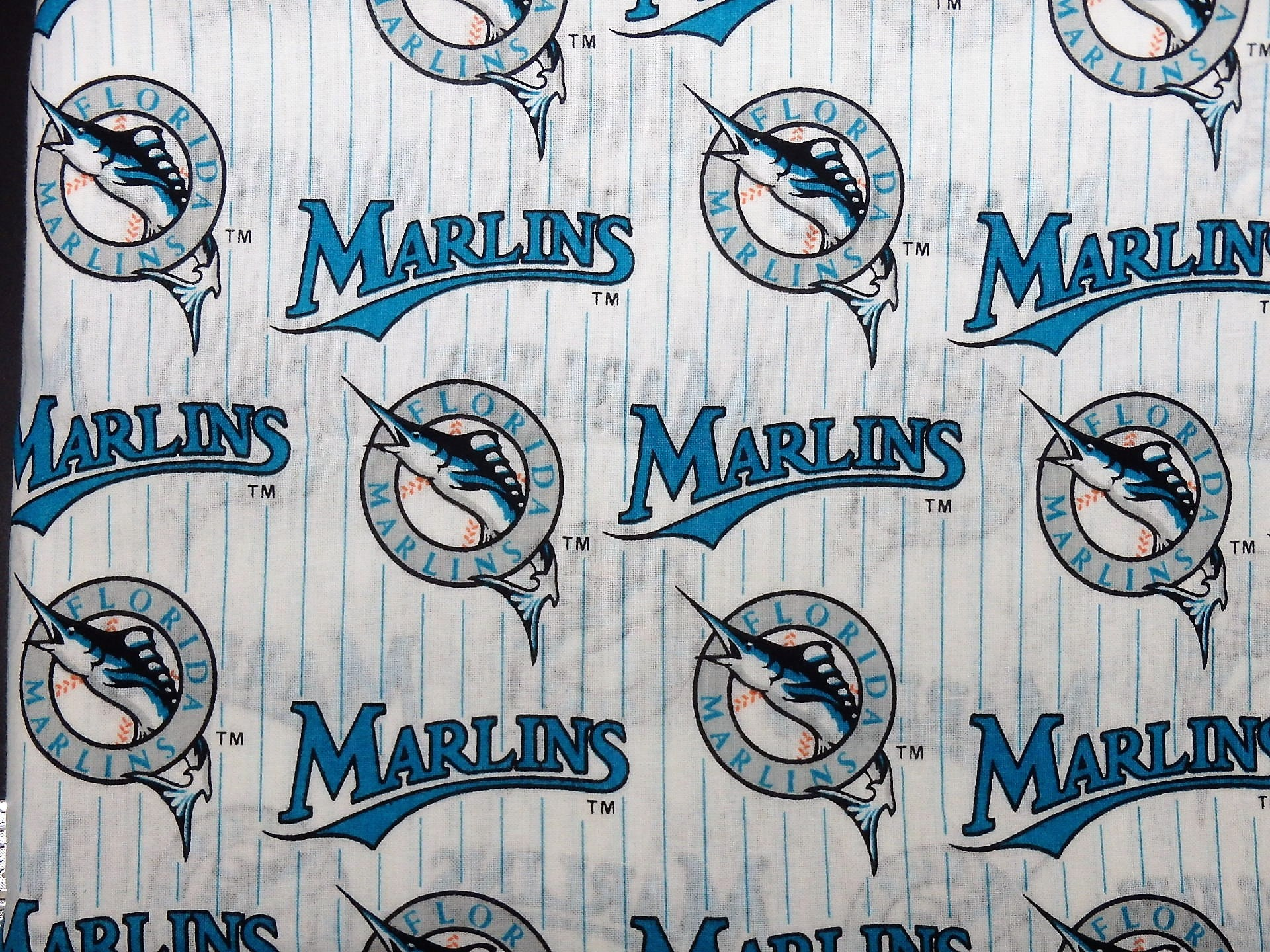 Miami Marlins Baseball Vintage Florida Fabric MLB