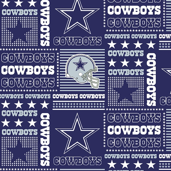 Dallas Cowboys Football NFL Fabric Cowboy Patch Fabric  d086f29aa