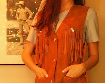 suede cowgirl vest