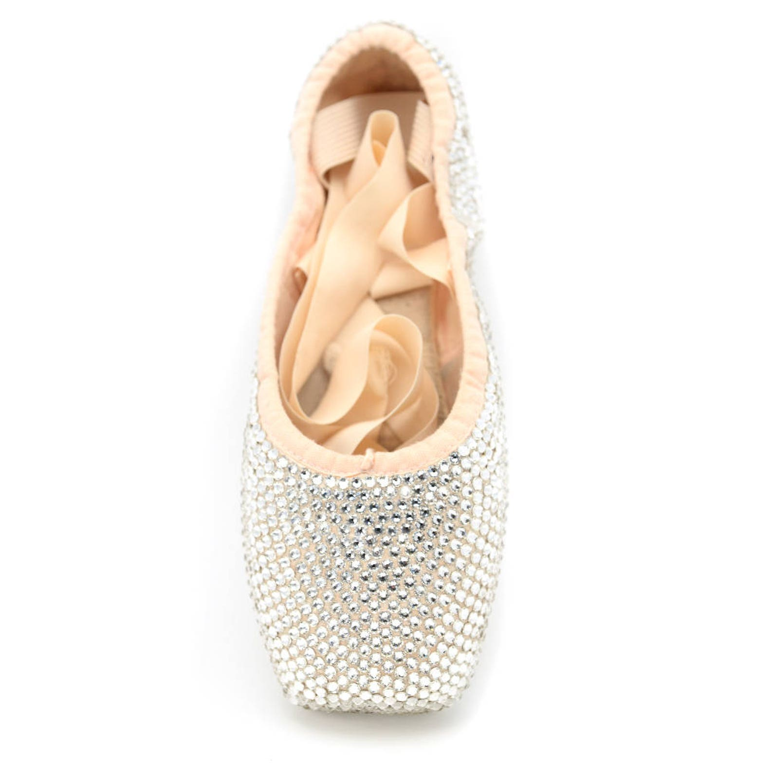 crystal pointe shoes | decorated ballet shoes | ballerina gift | swarovski crystal shoes | custom crystal color | gift for dance