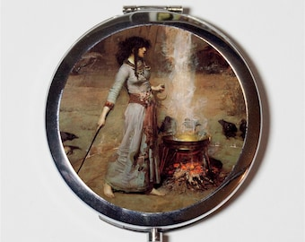 Waterhouse The Magic Circle Pocket Mirror tartx