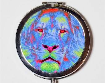 Simba Lion King compact pocket mirror or keychain charm