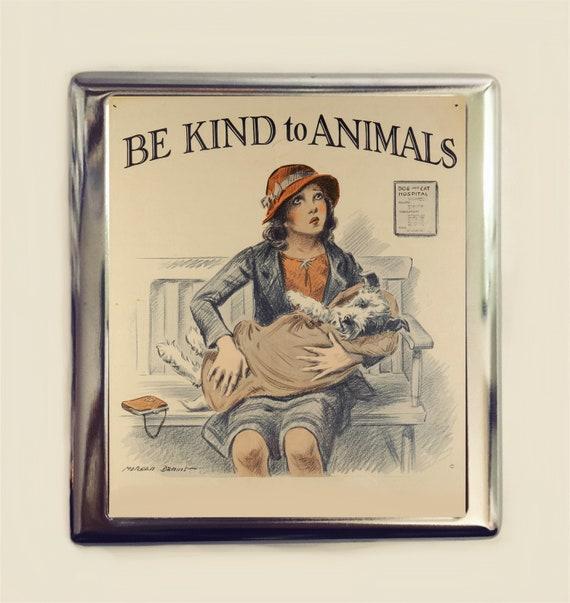 Be Kind Pour Animaux Tui Cigarettes En Carte De Visite ID