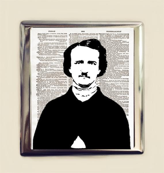 Poe Etui A Cigarettes En Carte De Visite ID Porte Pop Art